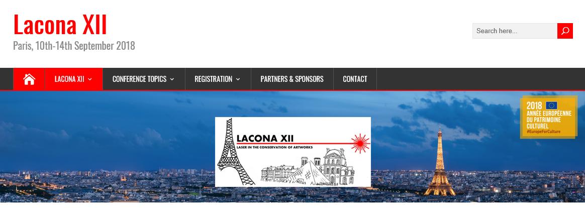 Lacona12 website